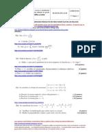 Selectividad matemáticas Junio 2012 Castilla y León