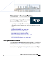 Cisco Hierarchical Color Aware Policing