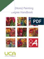 Ba Hons Painting Handbook