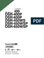 Sony Dsr-400, Dsr-600, Dsr-450, Dsr-650 Minidv Camera