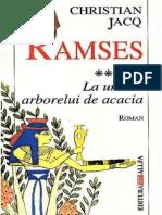 Christian Jacq [Ramses] 5 La Umbra Arborelui de Acacia
