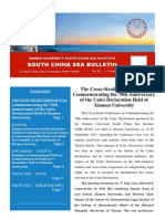 South China Sea Bulletin Vol.1 No.10 (1 October 2013)