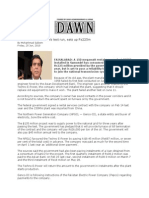Techno Rental Power Plant Dawn News
