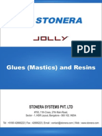 Mastics, Glues for Marble, Granite, Stone