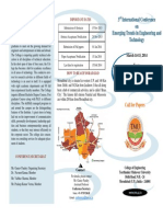 International Conference Brochure