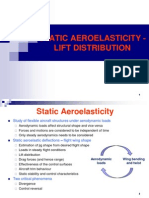 Static Aeroelasticity Lift Distribution 090120