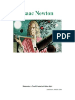 Isaac Newton - Raimundo Albenes