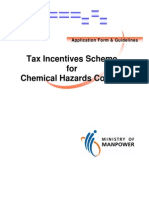 Application for Chemical Control Tax-Rebate