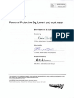 Network Rail PPE Specification Feb 2007