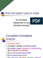 Anti-Corruption Laws in India