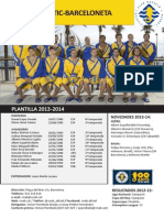 CN ATLÈTIC-BARCELONETA 2013-2014