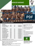 CN MATARÓ QUADIS 2013-2014