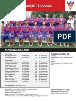 Cn Terrassa 2013-2014