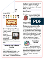 Chingford Hall School Newsletter October 2013