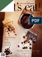Vol-50 let's eat! Magazine