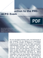 An Introduction to the PMI-ACP® Exam
