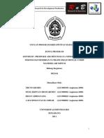 PKM K 11 UNDIP Tri DipFresh,Produksi Air