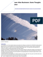 Chemtrails - Some Thoughts on Weather Modification