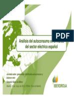 94908535 Analisis Del Autoconsumo en El Marco Del Sector Electrico Espanol Iberdrola