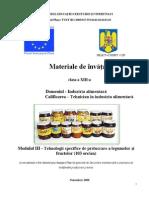 Tehnologii Specifice de Prelucrare a Legumelor Si Fructelor -Auxiliar