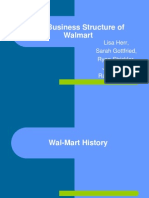 The Business Structure of Walmart