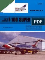 (Warpaint Series No.4) North American F-100 Super Sabre