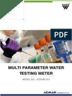 Multi Parameter Water Testing Meter