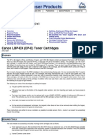 Canon LBP EX EP E Toner Summit Web