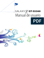 Manual Samsung Galasy y