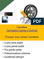 Réparation de carrosserie et Services de peinture de voitures