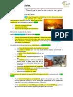 Tema 4. Incendios
