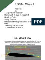 Class 2 - Intro and Vector Algebra