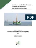BfN Studie Bauschallminderung Juli 2011
