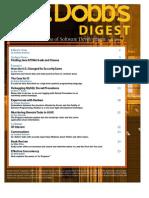 Dr Dobb's Digest July 09
