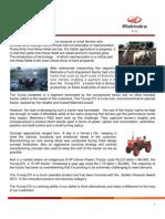 Case Study - The Yuvraj Tractor