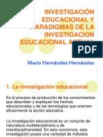 1. Investigacion Educativa Paradigmas