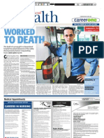 Worked to Death - The Australian