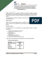 Informe de instalación del Sistema de Paralelismo Maestro f