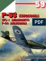 (Monografie Lotnicze No.59) Bell P-63 Kingcobra, XFL-1 Airabonita, P-39 Airacobra, Cz. 2