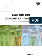 Calcium Ion Concentration Meter