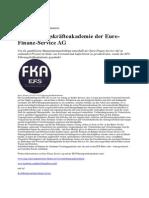 Die Führungskräfteakademie der Euro-Finanz-Service AG  pr-g