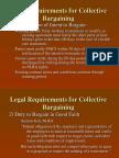 Bargaining Rules