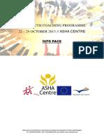 Asha Youth Coaching Infopack