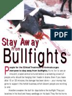 Bullfight Leaflet