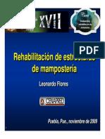 Rehabilitacion de Estructuras de Mamposteria Leonardo Flores