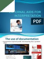 External Aids Interpreting