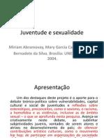 Juventude e Sexualidade