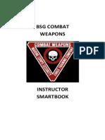 BSG Combat Weapons Instructor Smartbook