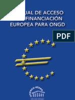 Manual Financiacion Europea