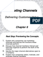 Marketing Channel -Delivery Customer Value